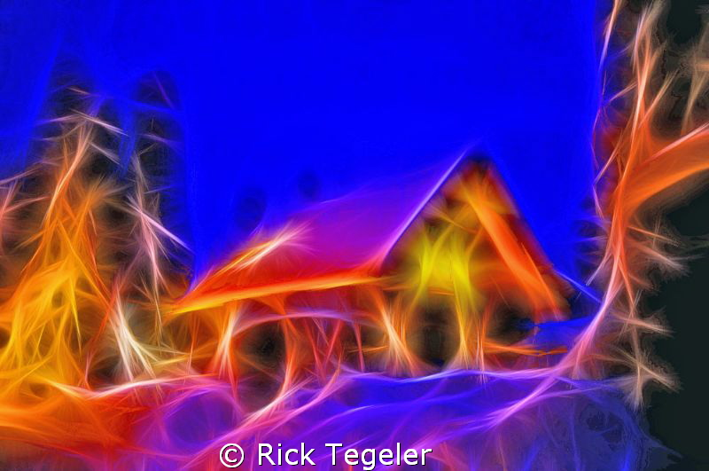 From my home in the magic of the Canadian Rockies of Brit... by Rick Tegeler
