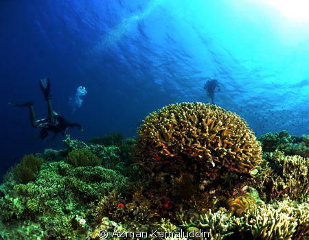 Underwater Exploration by Azman Kamaluddin