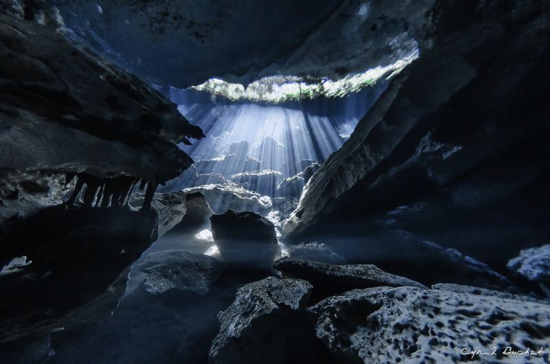 Cenote Chac mool by Cyril Buchet