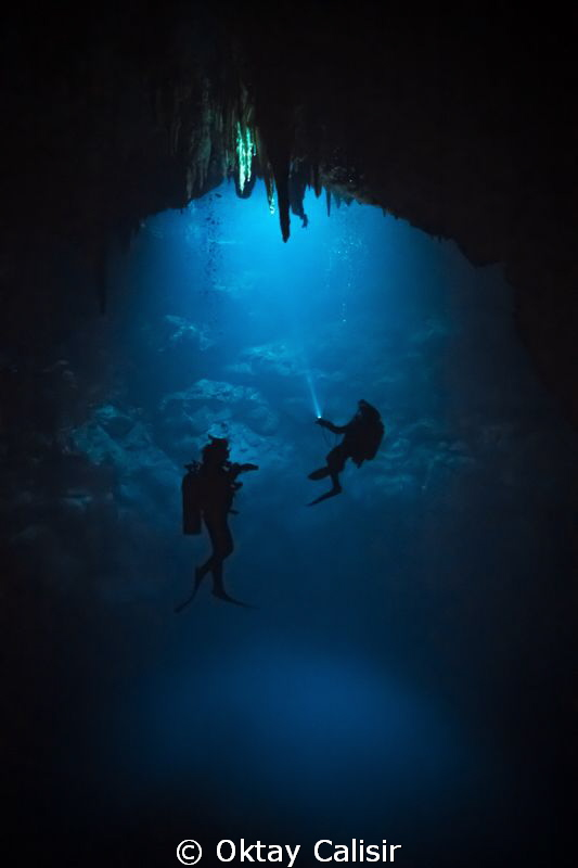 "Cenote ""The Pit"" - The Abyss... by Oktay Calisir"