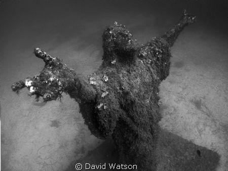 Christ Statue by David Watson