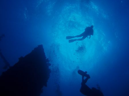 Red Sea, Shaab Abu Nuhas, taken on CARNATIC wreck by Jakub Patynek