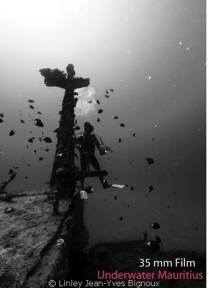 Shiwreck Mauritius   Northern Mauritius Balaclava  Canon... by Linley Jean-Yves Bignoux