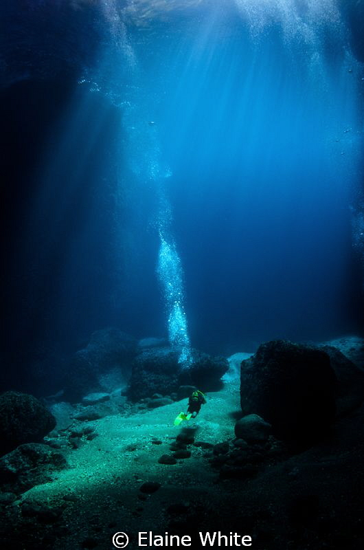 In the Caverns off Gozo by Elaine White