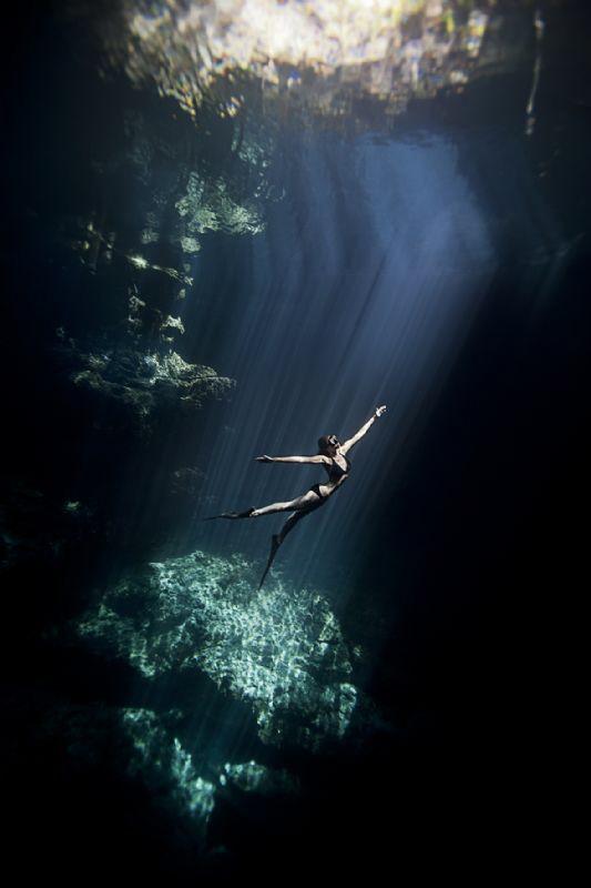 Freediver by Lucie Drlikova