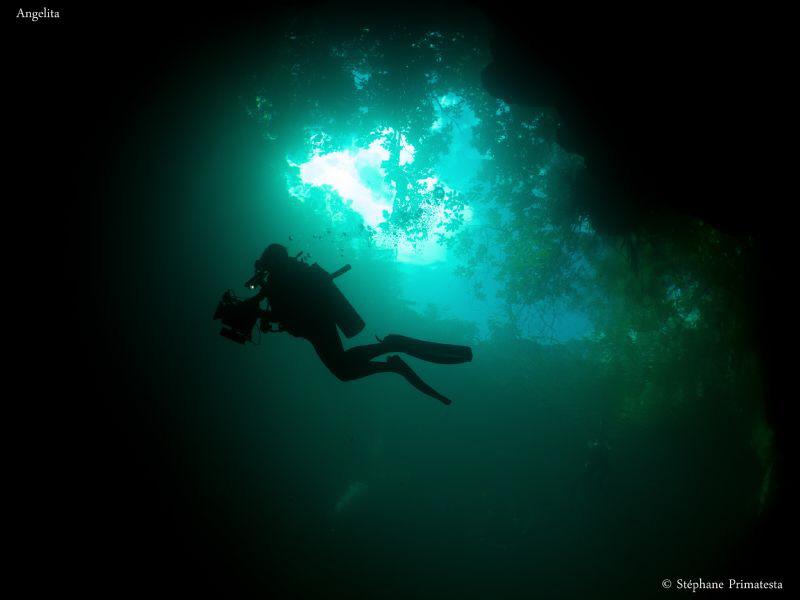 Cenote Angelita by Stéphane Primatesta