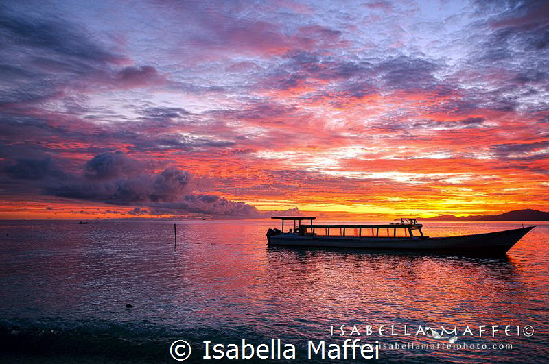 """SUNRISE REFLECTIONS"" by Isabella Maffei"