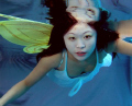 fairy magic under the water