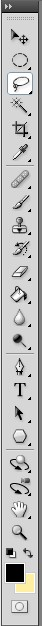 Photoshop CS4 toolbar