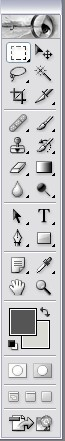 Photoshop 7 toolbar