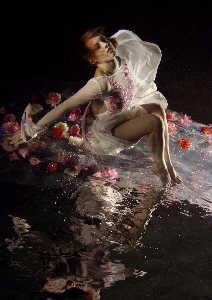 My best uw art fashion image. Model Sabina.