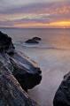 Sunset near Godrevy Beach Cornwall England. Taken April Nikon D7000.Baboon face rocks England D7000Baboon D7000 Baboon