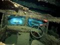 steering wheel Bedford truckThislegorm wreck Sharm El Sheikh Egypt