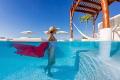 new challenge me working model Natalia one rooftop pools Playa Del Carmen