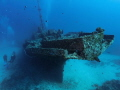 Wreck Stella Maru off Trou aux Biches North West Mauritius. Ground around 26 meters 85 feets. Mauritius feets