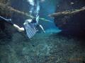 warm freshwater diving Media Luna. S.L.P. Mexico. Luna SLP Mexico