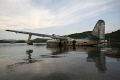 plane rotting surface crying be sunk dive wreck