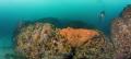 panorama vertical pics taken Batsata rock False Bay Cape Town
