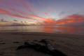 Sunset looking toward Ovalau Island Fiji shot Nikon D2X 10.5mm lens 105mm 10 5mm