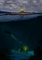 ... when wreck mysteriously lost fishing boat appeared deep diver noticed something strange worried him