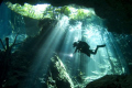 diver cenote chacmool great dive