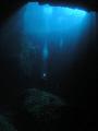 Blue Hole Gozo. Olympus 5060wzInon UWL 100f7.11160 secISO 200 Gozo f7.1 f71 f7 1/160 1160 160