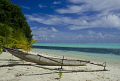 Canoe beach New Ireland Province