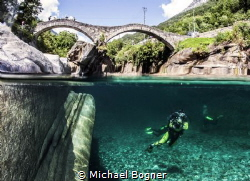Picture was taken in the river Verzasca in Switzerland. by Michael Bogner