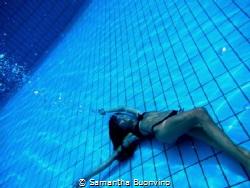 Underwater dreaming by Samantha Buonvino