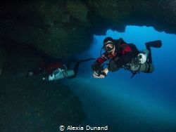 Sidemount Trimix Cavern Diving on Lanzarote. Beautiful ca... by Alexia Dunand
