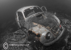 VW Beetle. Capernwray. by Mark Thomas