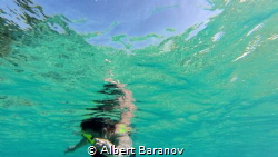 Under pool by Albert Baranov