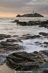 Godrevy Lighthouse, Cornwall, UK. Taken with a Nikon D7000 by David Stephens