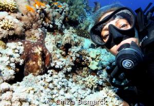 Funny selfie with octopus :) by Cinzia Bismarck