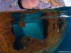 Telamon wreck. by Alexia Dunand