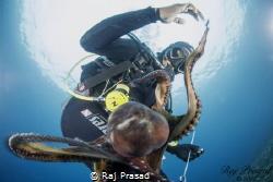 """We are friends, Shake hand please"" by Raj Prasad"