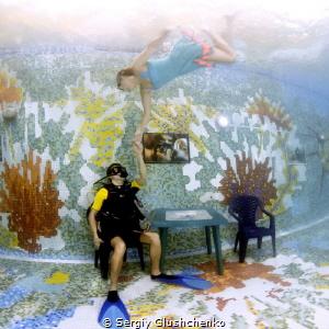 An underwater theme of Marc Chagall.. by Sergiy Glushchenko