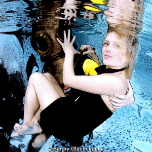 Underwater fanatics. by Sergiy Glushchenko