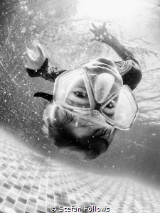 """""""He who would search for pearls must dive below."""" John Dr... by Stefan Follows"""