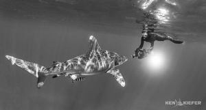 One of my favorite fish, with one of my favorite people! ... by Ken Kiefer