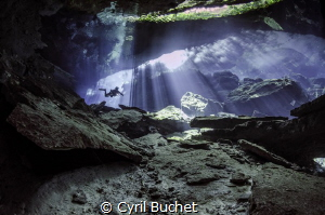 Cenote Chak Mool Mexico by Cyril Buchet