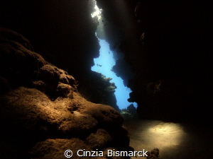 The exit Cave silhouette by Cinzia Bismarck