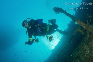 Diver in C-57 by Alejandro Topete