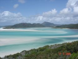 This shot was taken from Hill Inlet overlooking Whitehave... by Jayne Breckon