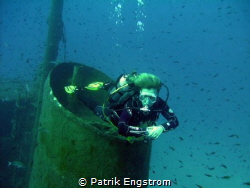 My wife Katja on the Rozie Malta by Patrik Engstrom