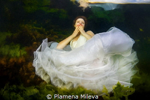 The Kiss by Plamena Mileva