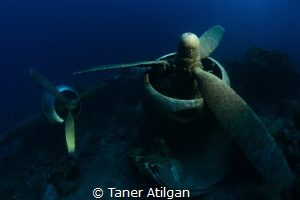 Plane wreck from Bodrum/Turkey by Taner Atilgan