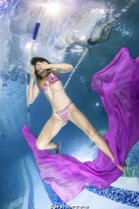 Fitness underwater by Sergiy Glushchenko