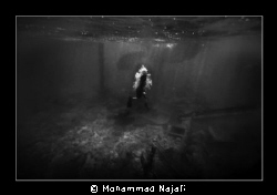 Beached Greek Ship, Kish Island, Iran. by Mohammad Najafi