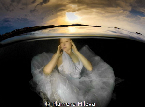 See me at the at sunset. by Plamena Mileva